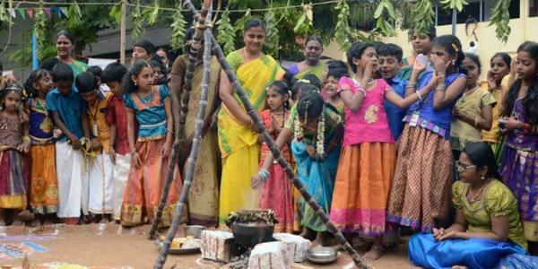 What's interesting about the Pongal menu
