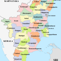 Map of temples