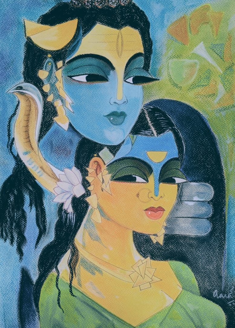 The primordial couple – the stories of Siva-Parvati weddings